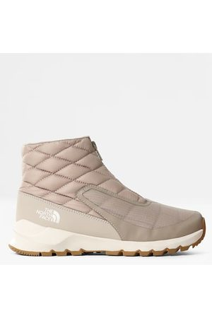 The North Face Femme Bottines - Bottines Zippées Thermoball™ Progressive Pour Femme Flax/vintage White Taille 36
