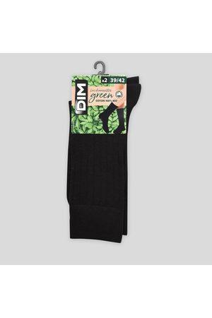 Monoprix Homme Chaussettes & Bas - Paire de chaussettes cotelées en coton BIO