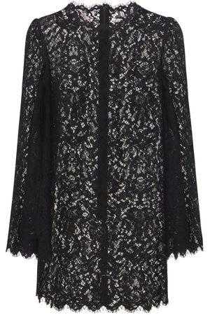 Dolce & Gabbana Mini-robe En Dentelle