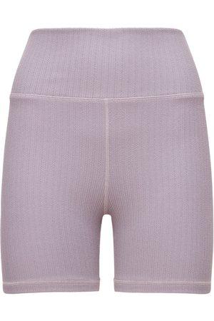 The Upside Femme Shorts - Jacquard Mini Spin Shorts