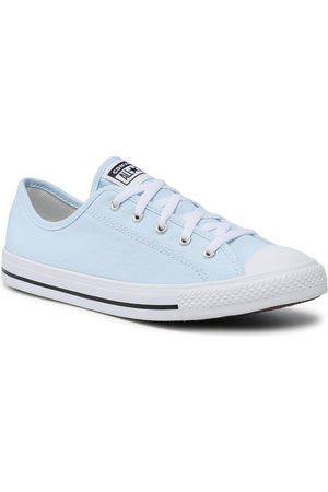 Converse Femme Baskets - Baskets - Ctas Dainty Ox 570674C Chambray Blue/Black/White