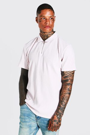 Boohoo Homme Polos - Regular Fit Pleated Polo Homme