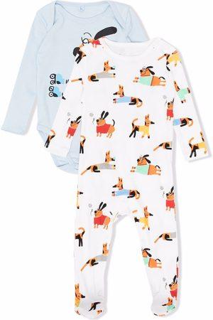 Stella McCartney Dog-print babygrow set