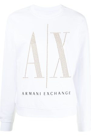 Armani Sweat à logo brodé de sequins
