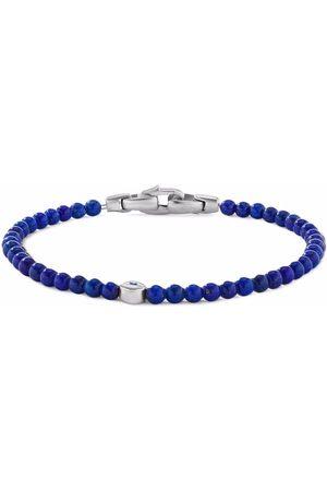 David Yurman Bracelet en or 18ct orné de saphir et lapis-lazuli