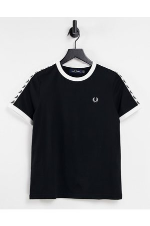 Fred Perry T-shirt manches courtes à bandes