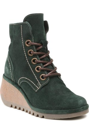 Fly London Bottines - Nero P501257010 Green Forest