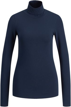 JACK & JONES Homme Manches longues - Jxeleanor Stretch T-shirt À Manches Longues Women blue