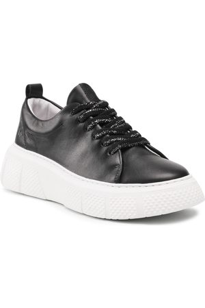 Fly London Sneakers - Eviafly P601486000 Black(Wht Sole)