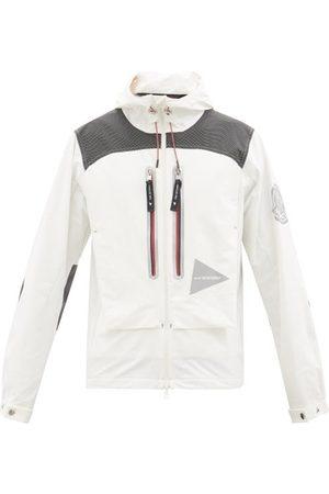 Moncler 1952 - Veste zippée à capuche et imprimé logo Itabashi