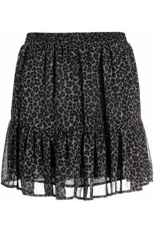Michael Kors Leopard-print skirt