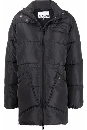 Ganni Oversize midi puffer jacket