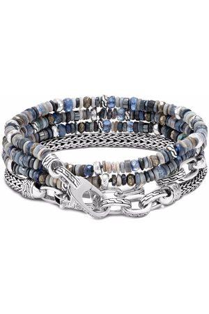 John Hardy Bracelet Classic Chain en et perles de verre à design multi-tours