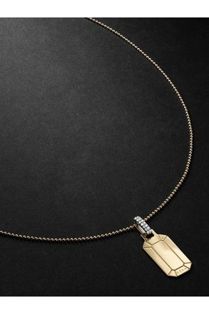 Eera Homme Bracelets - Tokyo Gold, Silver and Diamond Necklace
