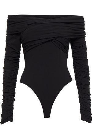 Khaite Femme Bodys - Body à encolure bardot en coton