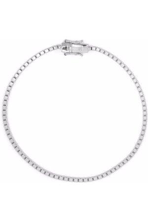 TOM WOOD Bracelet à maillons carrés