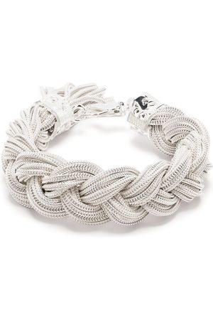 EMANUELE BICOCCHI Bracelets - Bracelet Ice à design tressé