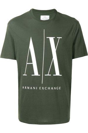 Armani Homme Débardeurs - Logo-print T-shirt
