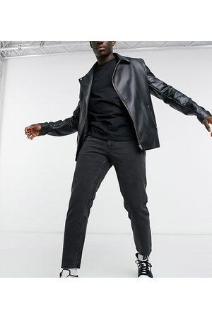 ASOS Homme Slim - Jean rigide classique - délavé