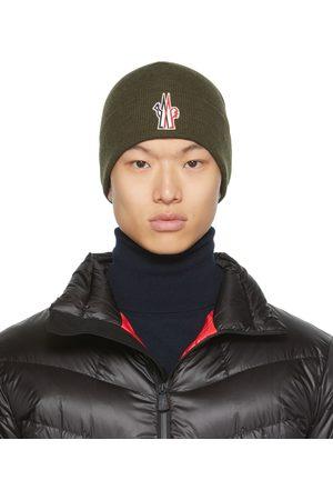 Moncler Bonnet en laine à logo