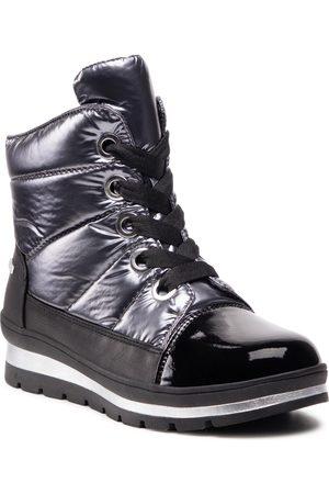 Caprice Bottes de neige - 9-26242-27 Black/Silver 095