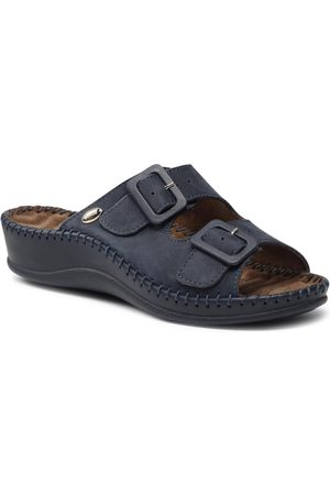 Scholl Femme Mules & Sabots - Mules / sandales de bain - Weekend 1040 F20068 Cobalt Blue