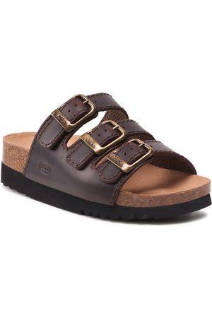 Scholl Femme Sandales - Mules / sandales de bain - MF26835 Rio Wedge Ad Med 1019 Chocolate Brown