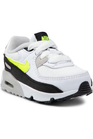 Nike Chaussures - Air Max 90 Ltr (TD) CD6868 109 White/Hot Lime/Black