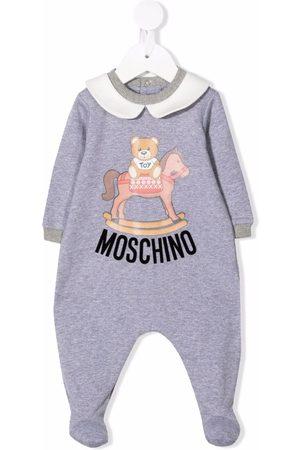 Moschino Pyjama à logo imprimé