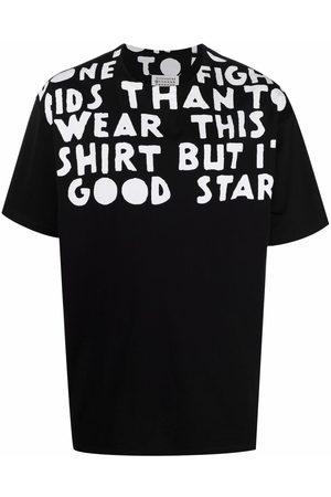 Maison Margiela T-shirt à slogan imprimé