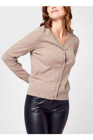 Knowledge Cotton Apparel LOTUS Lambswool V-neck Cardigan - GOTS par