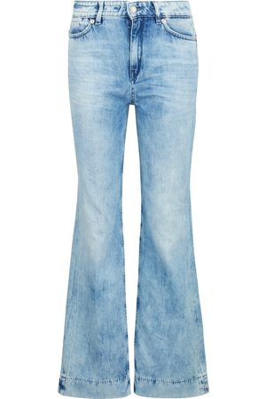 Drykorn Flared Jeans mit Waschung , Femme, Taille: W28 L34