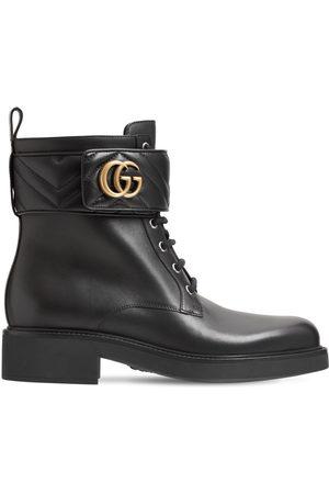 Gucci Femme Bottines - Bottines En Cuir Marmont 25 Mm
