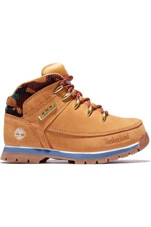 Timberland Chaussures - Chaussure De Randonnée Mi-haute Euro Sprint Junior En Et Camouflage Enfant