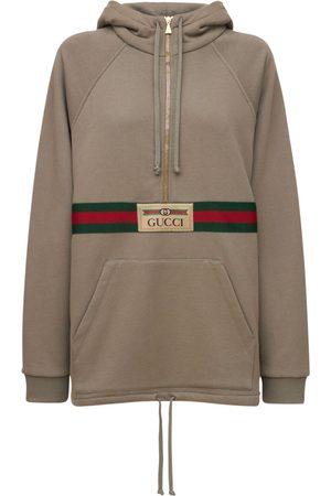 Gucci Femme Robes business - Mini-robe Sweat En Jersey De Coton Feutré