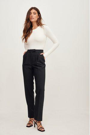 NA-KD Femme Costumes - Pantalon de costume - Black