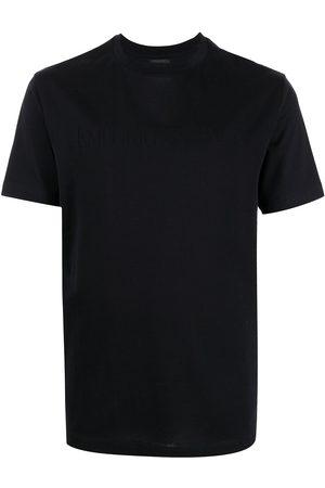 Emporio Armani Logo-print crewneck T-shirt