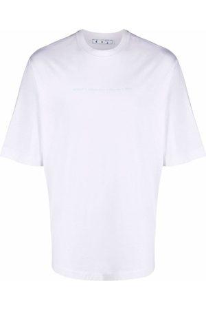 OFF-WHITE MARKER S/S SKATE TEE WHITE MULTICOLOR