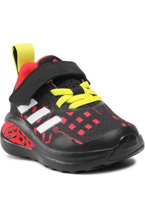 adidas Chaussures - FortaRun Superhero I H68114 Core Black/Cloud White/Vivid Red