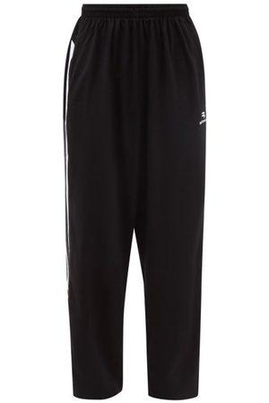 Balenciaga Pantalon de jogging en jersey de coton rayé