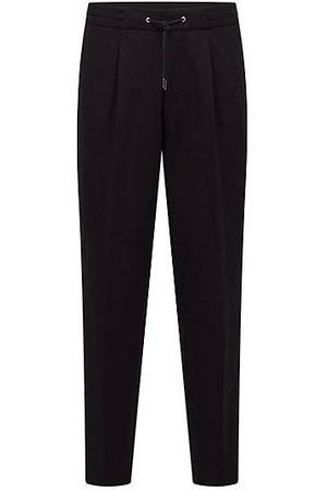 HUGO BOSS Homme Pantalons - Pantalon Relaxed Fit avec ruban logo