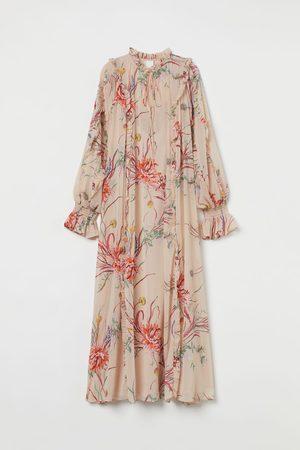 H&M Femme Robes longues - Robe maxi en mousseline