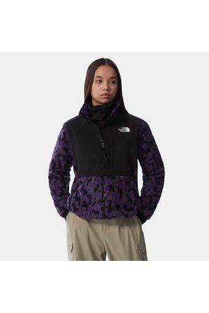 The North Face Veste En Polaire Imprimée Denali 2 Pour Femme Gravity Purple Leopard Print Taille L
