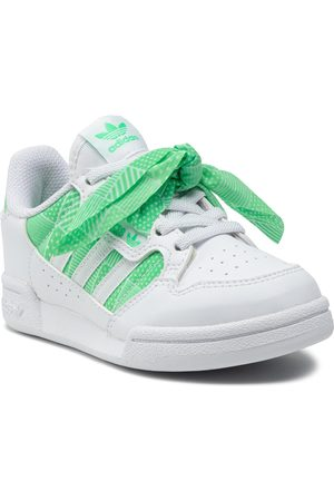 adidas Fille Chaussures basses - Chaussures - Continental 80 C H03938 Ftwwht/Ftwwht/Sescgr