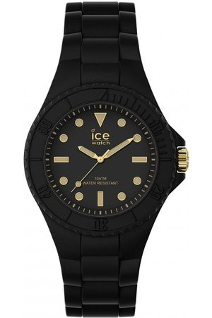 Ice-Watch Montre mixte Montres ICE generation - Black gold - Small - 3H 019143 - Bracelet Silicone