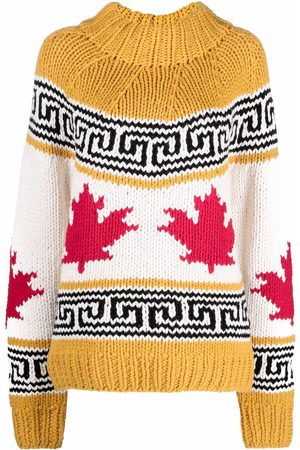 Dsquared2 Pull en maille intarsia