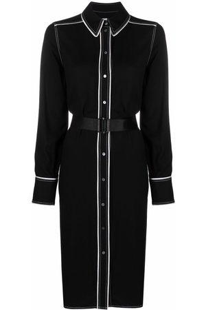 Karl Lagerfeld Femme Robes business - Robe-chemise à liserés contrastants