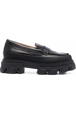 Ganni Femme Mocassins - Chunky-sole loafers