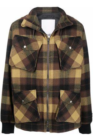 Kenzo Plaid-check print jacket