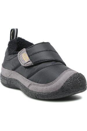 Keen Garçon Chaussures basses - Chaussures basses - Howser Low Wrap 1025672 Black/Stel Grey 1025672